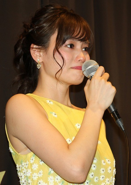 中西美帆、初主演映画の公開に喜びの涙「本当に幸せ」