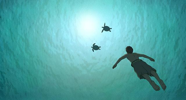 「レッドタートル ある島の物語」の一場面