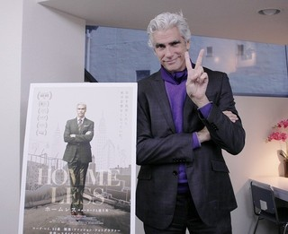 本当にホームレス? ニューヨークで 家なし生活を送るマーク・レイ「ホームレス ニューヨークと寝た男」