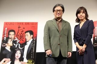 パク・チャヌク監督と小説家の島本理生氏「お嬢さん」