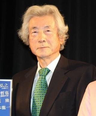 小泉純一郎元首相、現在は「政治家とは会わないようにしている」