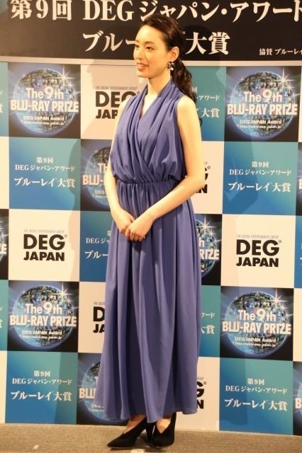 「第9回ブルーレイ大賞」アンバサダー栗山千明、「フォースの覚醒」グランプリ獲得に感慨 - 画像6