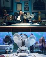 「SING」主演声優マシュー・マコノヒーのアフレコ映像公開!超ポジティブなコアラに変身