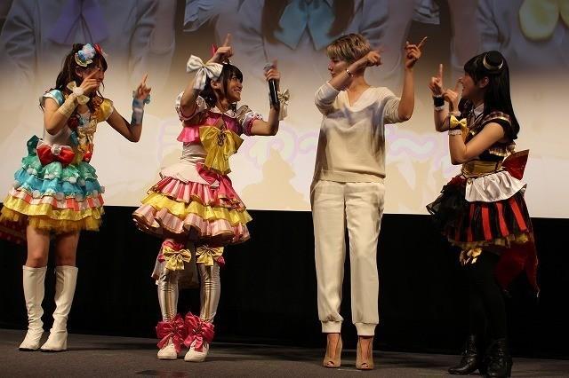 梅宮アンナ、「プリパラ」声優・茜屋日海夏らのキュートな衣装を「私も着たかったな」