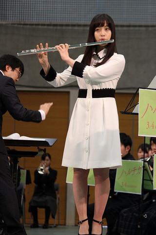 橋本環奈、佐藤勝利&現役吹奏楽部員との「ハルチカ」楽曲の合奏に「感無量です」