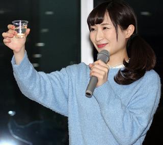 武田梨奈「2日に1回独り酒」で酒豪道まっしぐら!?「なめろうと梅水晶にハマっています」