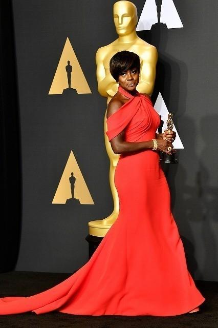 助演女優賞を獲得したビオラ・デイビス
