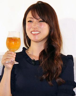 ヱビスビールの新商品をPRした深田恭子