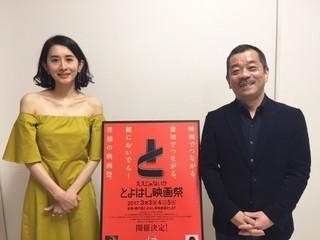 """松岡錠司監督&河井青葉、とよはし映画祭で""""深夜""""トークに花咲かす"""