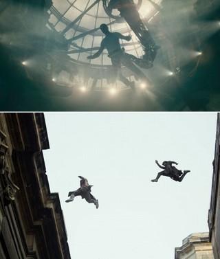 壁を飛び移るシーンも実際に演じている「アサシン クリード」