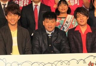 中尾明慶&小出恵介、ジミー大西の天然発言に振り回され苦笑い