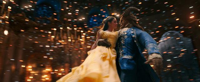 【全米映画ランキング】実写版「美女と野獣」が歴代6位の特大ヒットで首位デビュー