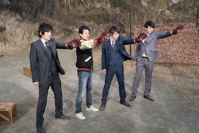 ドラマ版お馴染みのスパイダーハンドが登場!
