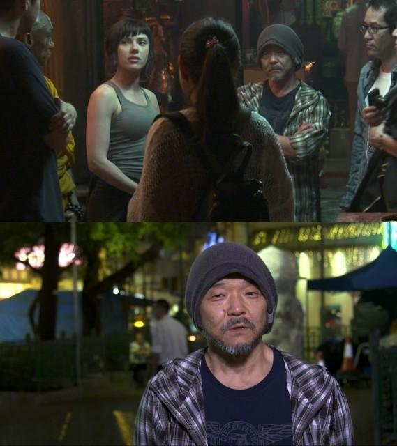 神山健治監督と共に香港の撮影現場を訪問