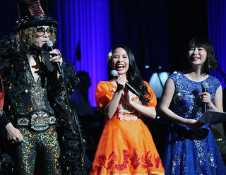 屋比久知奈&ROLLY、ディズニー・コンサートに出演「モアナと伝説の海」をアピール