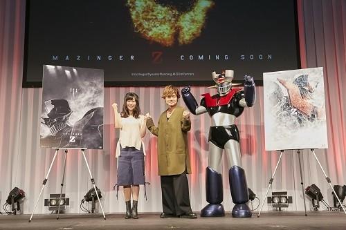 「劇場版マジンガーZ」世界先行公開が決定!兜甲児は森久保祥太郎、弓さやかは茅野愛衣に