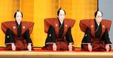高麗屋親子三代、歌舞伎座で初の襲名口上写真に幸四郎も感慨「うれしゅうございます」