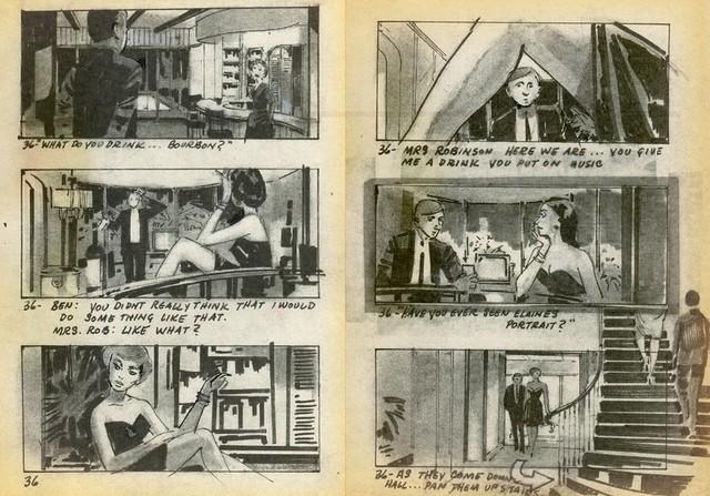 ハリウッド映画史に残る名シーン!「十戒」「鳥」「卒業」絵コンテを公開 - 画像5