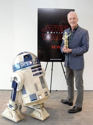 C-3PO役アンソニー・ダニエルズが「スター・ウォーズ」に目覚めたワケは…?
