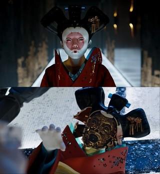「ゴースト・イン・ザ・シェル」福島リラ演じる芸者ロボットの製作風景明かす映像公開