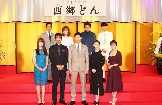 北川景子&高梨臨「西郷どん」で大河ドラマ初出演!