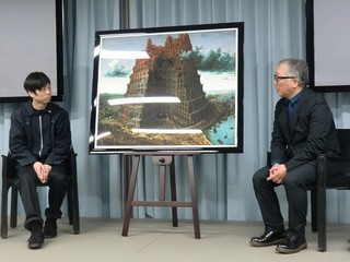 大友克洋、「バベルの塔」を新解釈 塔の内側を描いた「INSIDE BABEL」を発表