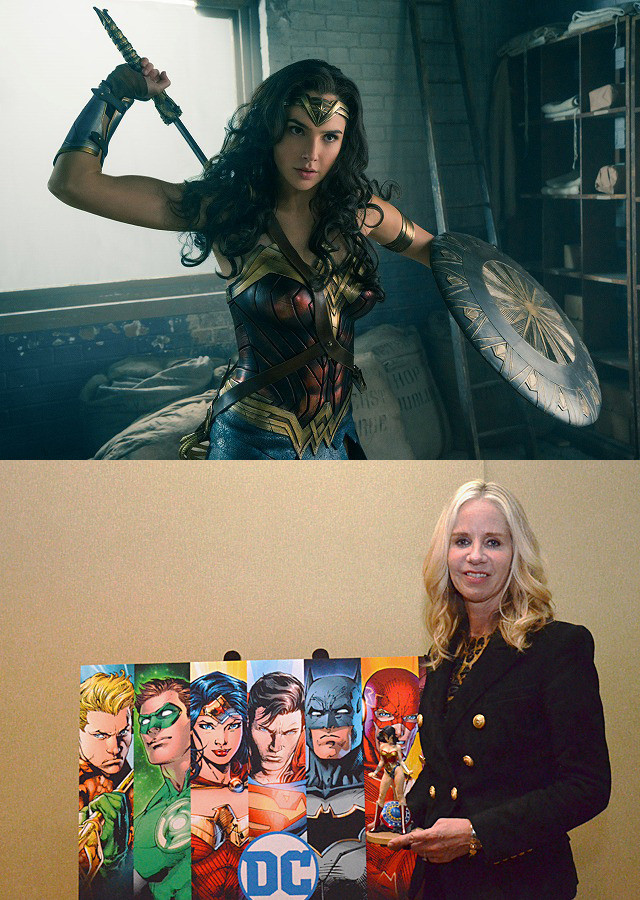 DC女性社長が語る「ワンダーウーマン」の重圧と憧れ