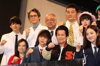 「ラストコップ」キャスト陣が生ドラマ披露!唐沢寿明、佳境で失態