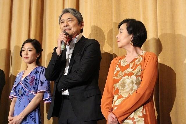 升毅、長編初主演作のパートナー・高橋洋子への愛あふれる短歌を披露!
