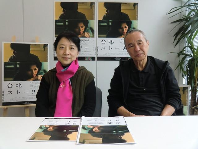 ホウ・シャオシェン(右)と、チュー・ティエンウェン