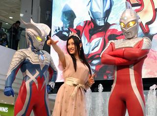ウルフェスにも足繁く通って いたという女優の土屋太鳳「ウルトラマンゼロ THE MOVIE 超決戦!ベリアル銀河帝国」