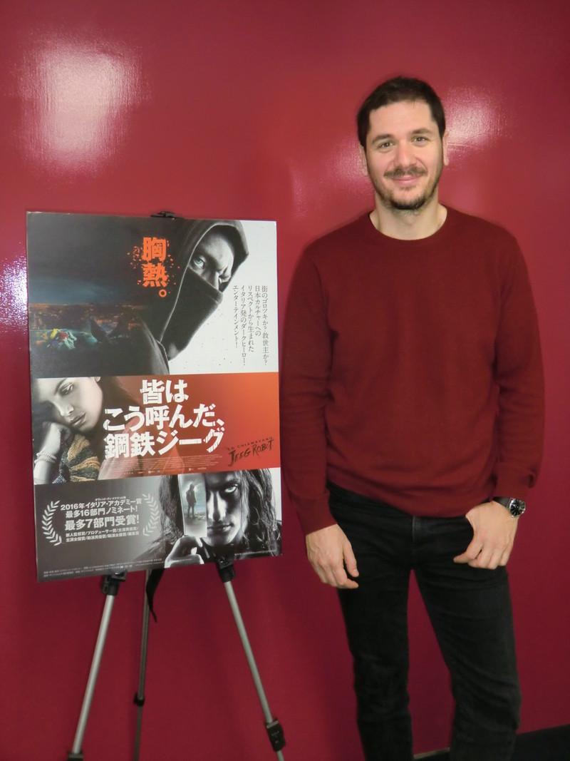 「日本のアニメヒーローにあこがれた」 伊のマイネッティ監督「鋼鉄ジーグ」にオマージュ