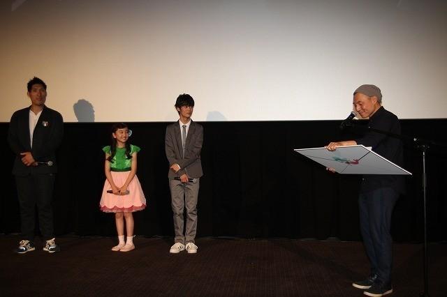 谷花音ちゃん、湯浅政明監督の手紙に号泣「声を褒められたのは初めて」