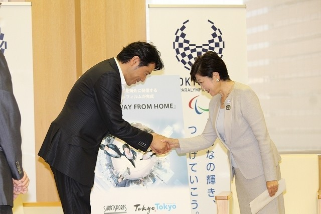 別所哲也、小池百合子東京都知事に表敬訪問 SSFF&ASIA2017への参加を要望 - 画像1