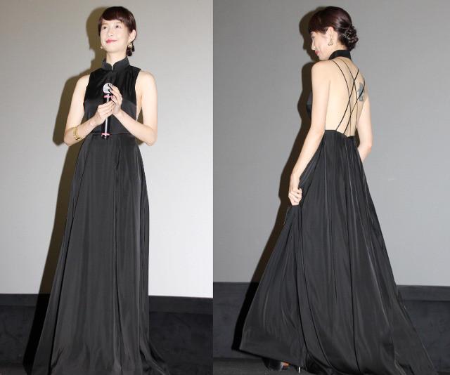 台湾女優ジエン・マンシュー、大胆ドレスで魅了!好きな人には「自分から積極的に」