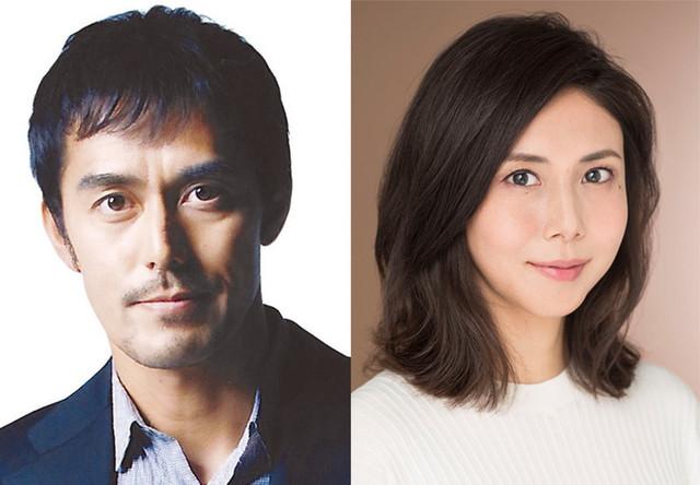 初共演となる阿部寛と松嶋菜々子