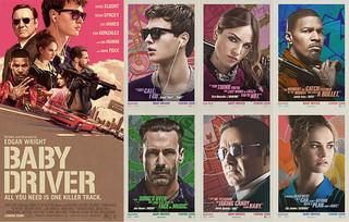 「ベイビー・ドライバー」アーティスティックなキャラポスターを一挙公開