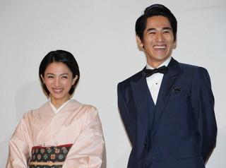 満島ひかり、永山絢斗と初2ショット披露で終始笑顔