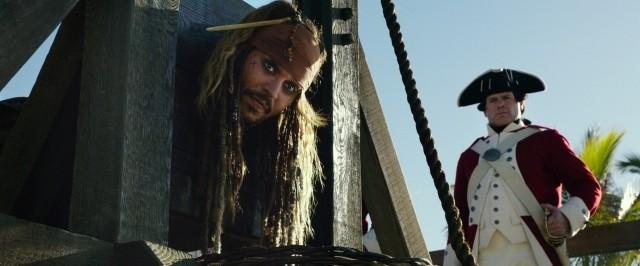 「パイレーツ」最新作、本編映像独占入手!ジャック船長、ギロチンにかけられ万事休す?