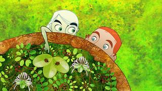 アイルランドの長編アニメ「ブレンダンとケルズの秘密」「ブレンダンとケルズの秘密」
