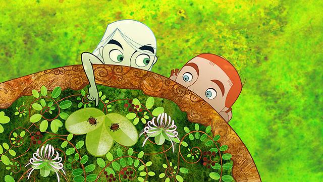 アイルランドの長編アニメ「ブレンダンとケルズの秘密」