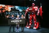 世界に1台?全長4mのリアル「トランスフォーマー」車両が日本上陸!