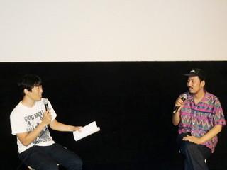 松江哲明監督と鈴木洋平監督「丸」