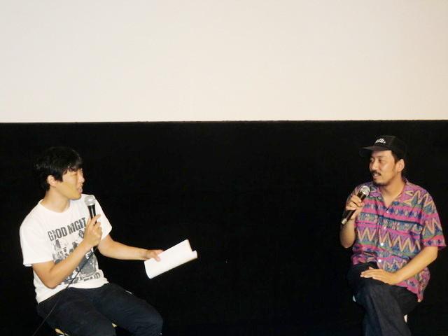 松江哲明監督と鈴木洋平監督