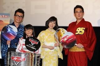 松岡茉優、11歳美少女プロレーサーにメロメロ 藤森慎吾の軽口には「うるさいね~」
