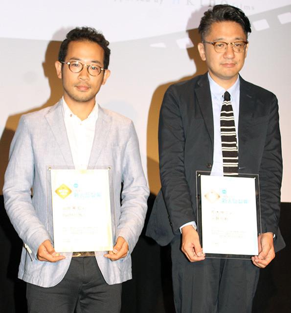 グランプリ山田篤宏氏(左)と準グランプリ荒木伸二氏