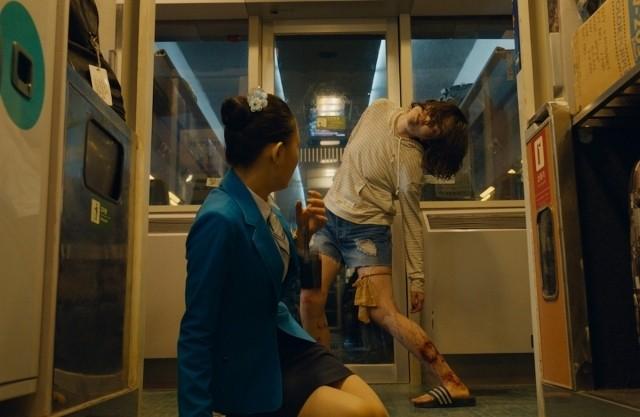 サバイバルアクション「新感染」にあの人気女優!感染者として奇怪な動きを披露