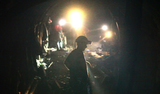 「鉱 ARAGANE」の一場面「鉱 ARAGANE」
