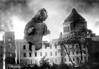 1954年製作「ゴジラ」場面カット「ゴジラ」