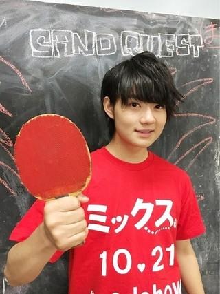「M!LK」佐野勇斗、人生初の卓球大会出場!出演映画「ミックス。」企画で猛特訓へ